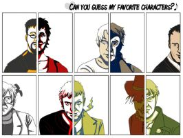 CanYouGuessMyFavouriteCharacters? CONTEST by brody-lover