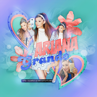 Blend / Ariana Grande by PamHoran