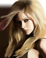 Avril Lavigne Colour by Wild-Theory