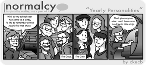Normalcy-15:Yearly Personal... by NormalcyStudios