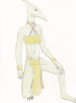 Anthro Pterodactyl by HeirAberrant