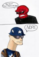 Captain America in a Nutshell by thedarklordkeisha
