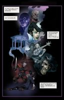 DISHONORED COMIC BOOK.  1 p. by SapeginM92
