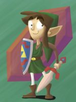 Link Da Ero of Tiem by Phil-SH