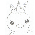 torchic drawing by curseofdarknes
