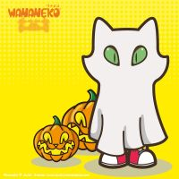 Wananeko in Ghost costume by ExoesqueletoDV