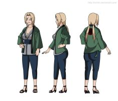 Parody of Tsunade by lrslink