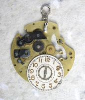 The Time Wheel Pendant by clockwork-zero
