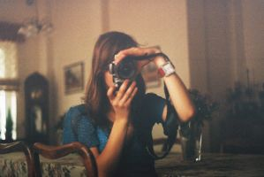 Looking through a camera lens by charlieee
