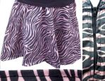 Striped Skirt by quixotic-spark