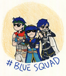 BLUE SQUAD HELLS YAH by canancandy