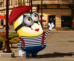 Mime Minion 25 by Emilythewitch