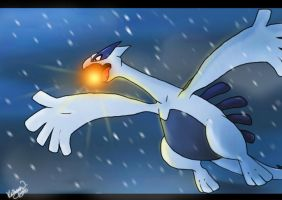 Pokemon: Lugia by chocolatecherry