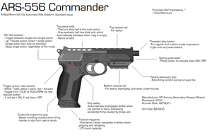 ARS-556 Commander by GrimReaper64