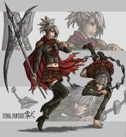 Final Fantasy Type-0 by Terra7