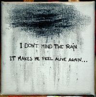I don't mind the rain by ExtwoBlog