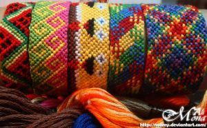 Friendship Bracelets ..35.. by Noomy