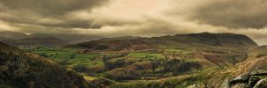 Lake District Mountain Panorama by OPrwtos