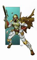 Boba Fett by spidermanfan2099