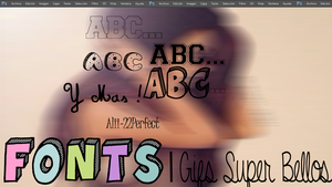 Fonts [Alii-22Perfect by Alii-22Perfect