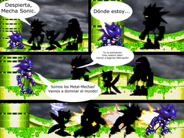 Mario and Sonic CV Chapter 2 Part 1 in Spanish by Mazznick
