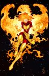 Dark Phoenix - Colors by StacyRaven