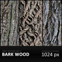Texture Set II     BarkWood by diGitALae