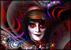 The Mad Hatter by ivankorsario