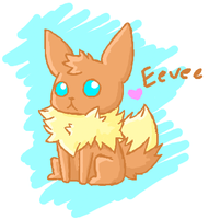 Eevee by Nikaidu