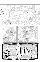 TF Animated Botcon page 6 inks by MarceloMatere