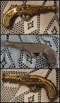 Steampunk Gun (before and after) by KvartsiCosplay