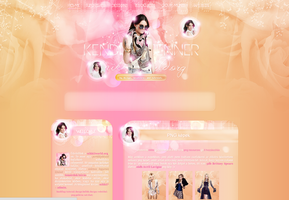 New theme ft. Kendall Jenner by cherryproductionsorg