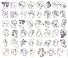 Lots of Profiles by JoeCostantini