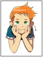 Chibi Scott Coloured by pseudo-science