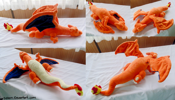 Sleeping Charizard by xBrittneyJane