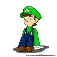 its luigi by MariobrosYaoiFan12