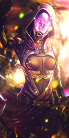 Tali - Mass Effect Signature by Salader