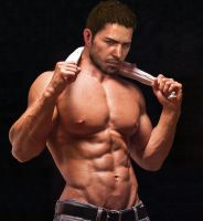 Chris Redfield Photoshoot by SpyrousSeraphim