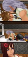 Poor Kairi by BlackKiba