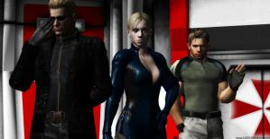 Wesker Team by WolfShadow14081990