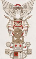 Totem of The Hipster Clan by Verde13