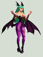 Morrigan Anime Face Update XII by 0kronos0