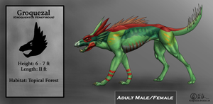 Groquezal Concept Art by Vigthy