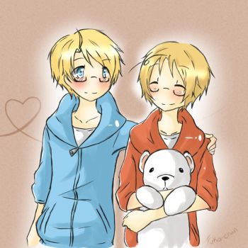 APH: USA and Canada by Fuko-chan