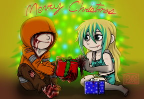 Christmas Commish 1 by 13OukaMocha13