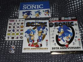 Special Edition Sonic Mag by DarkGamer2011