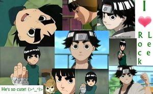 I Love Rock Lee by FoxFreek