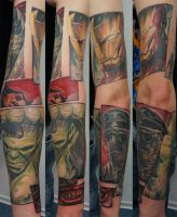 comic arm project... by graynd