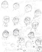 South Park Sketches by VotrePoison