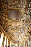 Ceilings of the Lourve by Nitersss